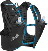 CamelBak Ultra Pro Vest - Drinkrugzak - S - Zwart (Black / Atomic Blue)
