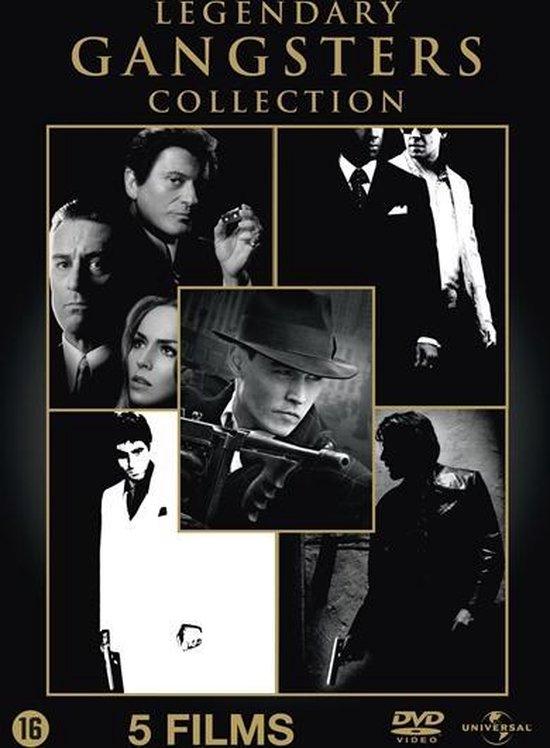 Cover van de film 'Legendary Gangster Box'