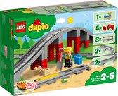 Afbeelding van LEGO DUPLO Treinbrug en Rails - 10872 speelgoed