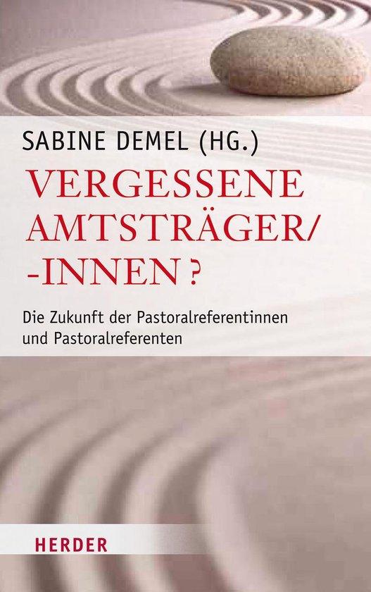 Boek cover Vergessene Amtsträger/-innen? van Sabine Bieberstein (Onbekend)