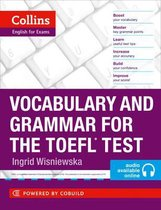 Boek cover Vocabulary and Grammar for the TOEFL Test (Collins English for the TOEFL Test ) van Ingrid Wisniewska