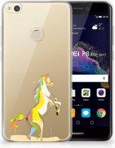 Huawei P8 Lite 2017 Uniek TPU Hoesje Horse Color