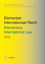 Boek cover Elementair Internationaal Recht 2019 van Asser Press (Paperback)