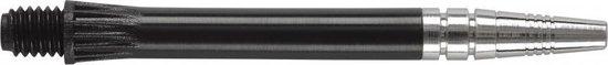Harrows darts Alamo shaft zwart short 3 stuks