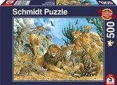 Grote katten, 500 stukjes Puzzel