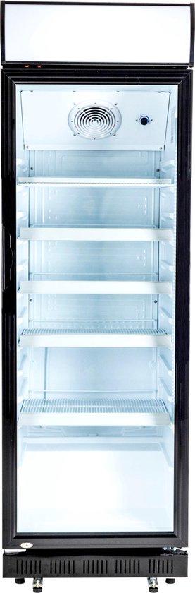 Koelkast: Exquisit ELDC400.1XL - Horeca koelkast - Glazen deur, van het merk Exquisit