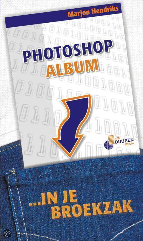 Cover van het boek 'Photoshop Album in je broekzak'