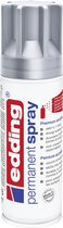 edding Permanent Spray - Spuitbus verf - Kleur: zilver, mat