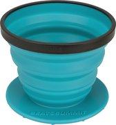 Sea to Summit X-Brew Coffee Dripper Campingservies inklapbaar - Koffiefilter - Blauw - kunststof