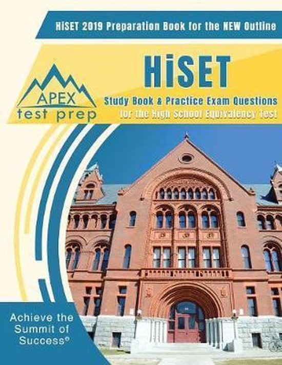 HiSET 2019 Preparation Book for the NEW Outline