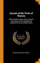 Omslag Annals of the Town of Warren