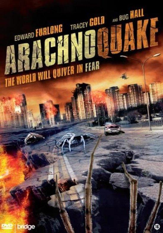 Cover van de film 'Arachnoquake'