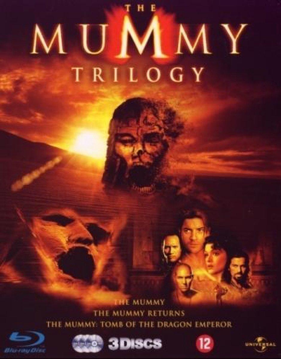 The Mummy Trilogy (Blu-ray) - Movie