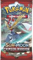 Pokémon Sun & Moon: Crimson Invasion Boosterpack