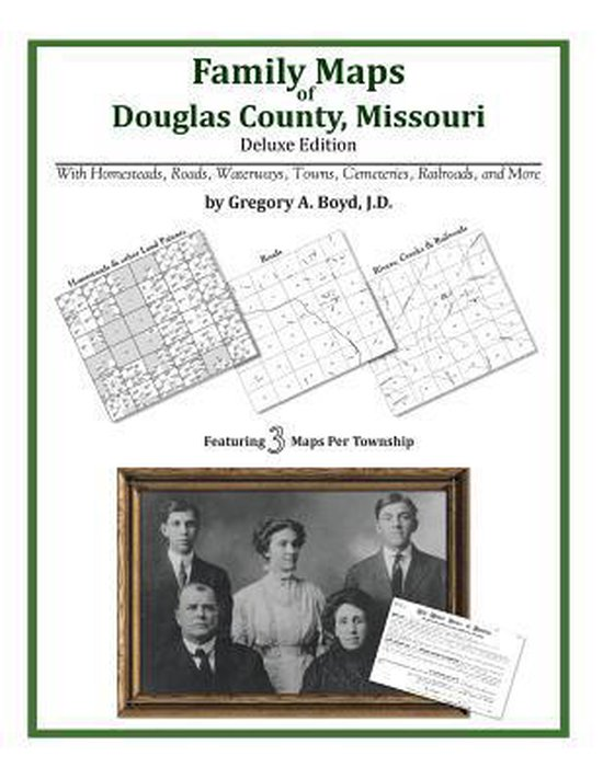 Family Maps of Douglas County, Missouri