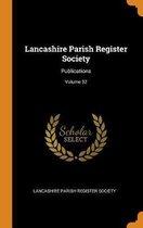 Lancashire Parish Register Society