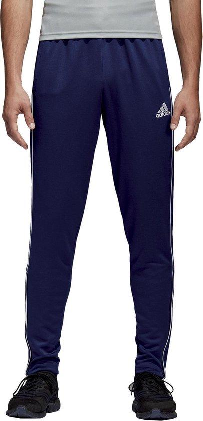 adidas Core 18 Training Sportbroek - Maat L - Mannen - blauw
