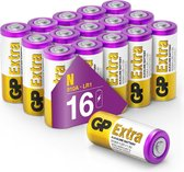 GP Extra Alkaline batterijen N Lady LR1 batterij 1.5V - 16 stuks