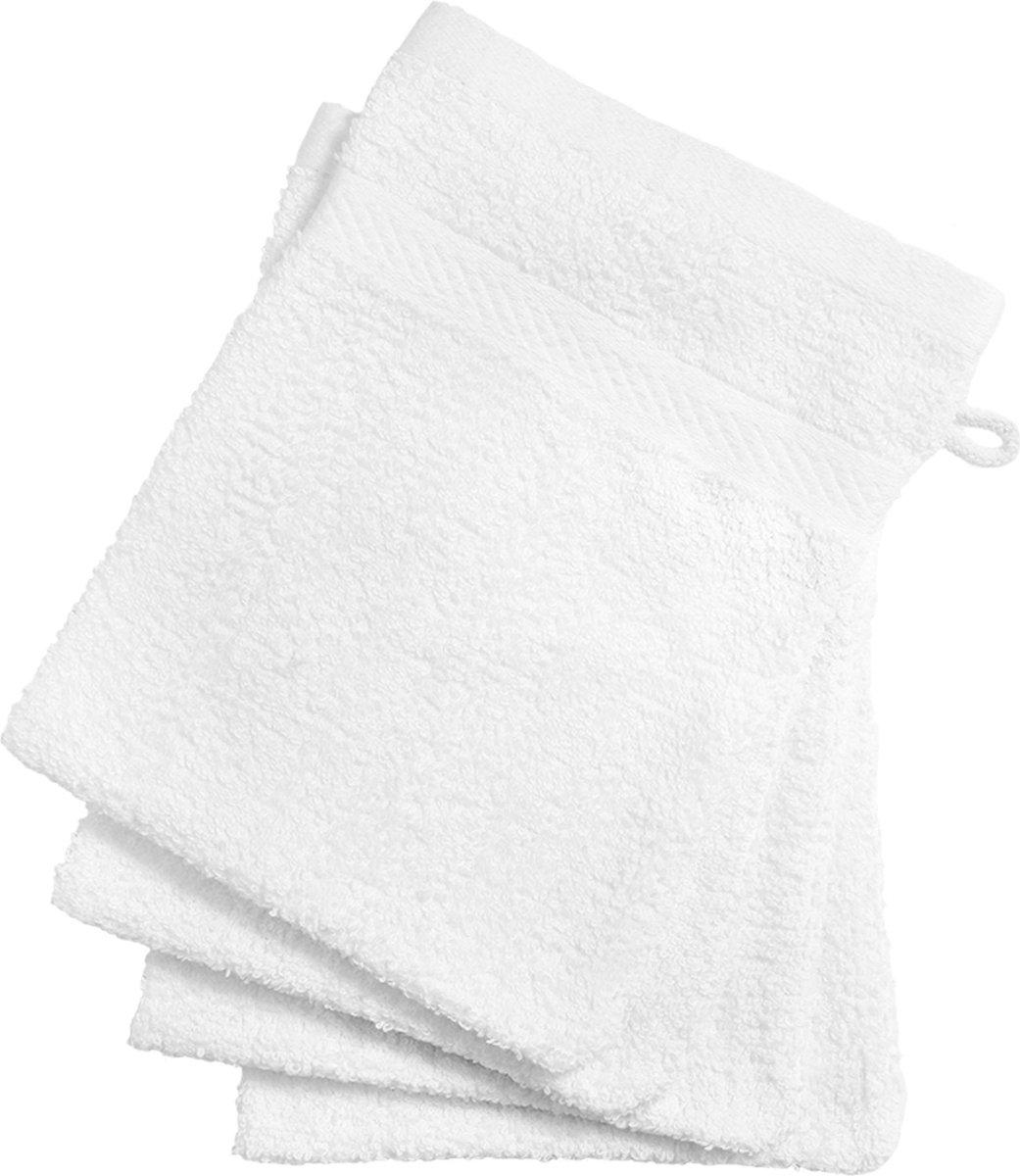 Washandjes - 12 stuks - Wit