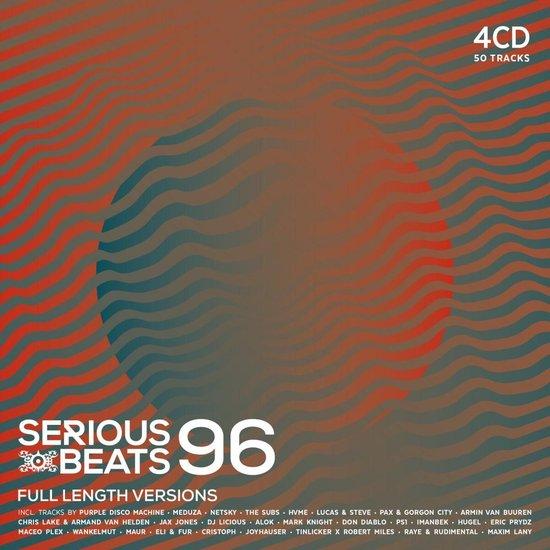CD cover van Serious Beats 96 van various artists