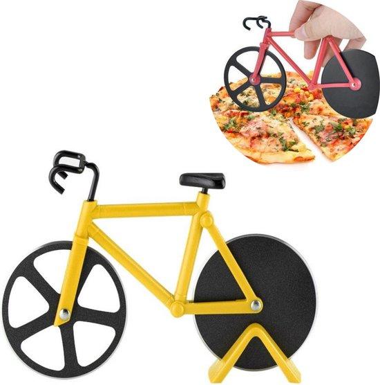 HMerch™ Pizzasnijder Fiets – Pizzaroller – Pizza Snijder – Pizza Cutter – Pizzames