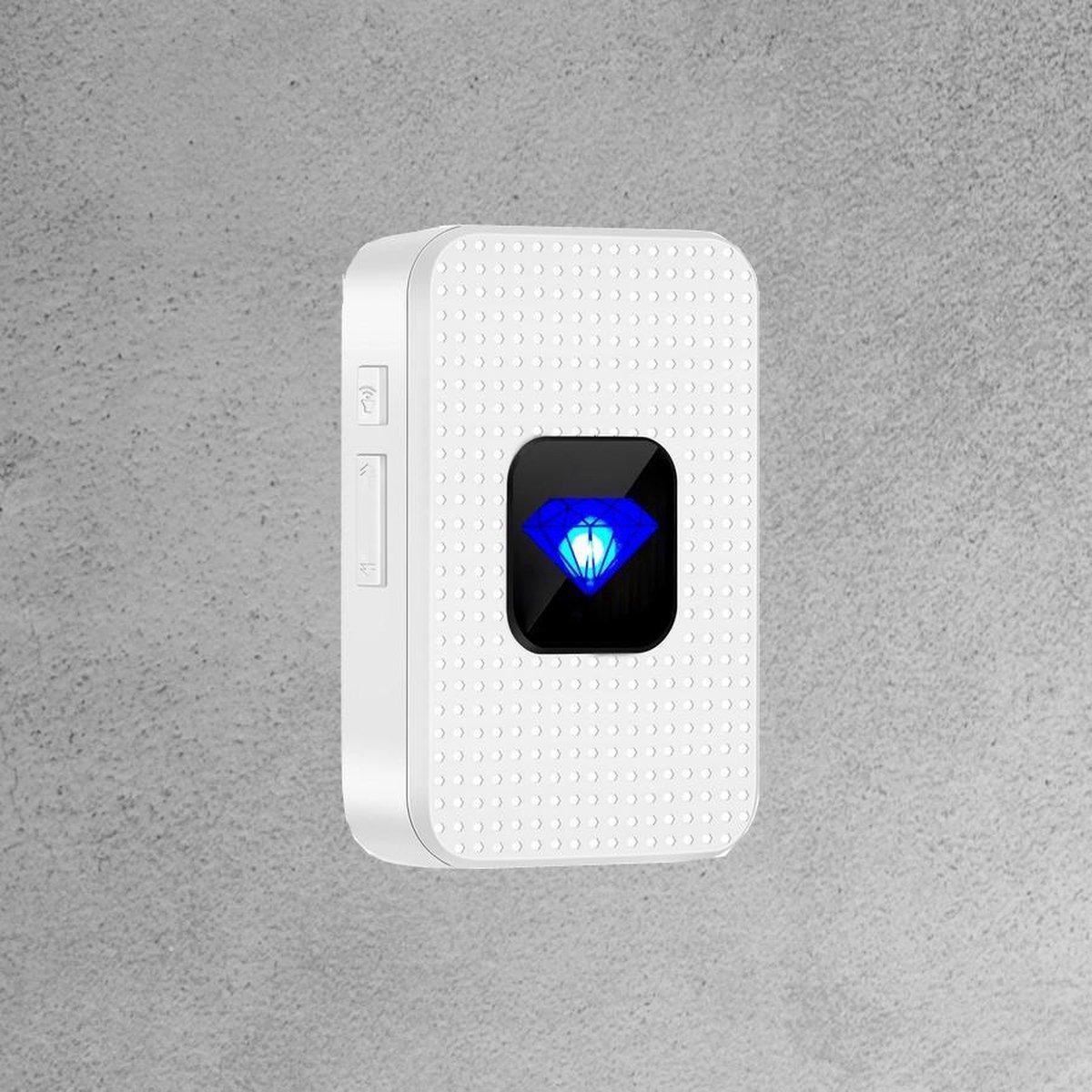 Doorguard draadloze gong - Smart Home Beveiliging - 64 melodieën - Werkt op Doorguard slimme deurbel -