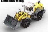 Liebherr L586 Xpower Shovel Technisch Bouwpakket - Geen Lego® - Creator - Wiellader - Loader - MEGA Groot Bouwpakket - 12150 onderdelen! - Toy Brick Lighting
