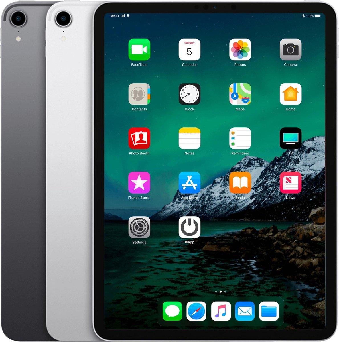 Apple iPad Pro 11 2018   – 11 inch – WiFi – 64 GB – Spacegrijs – B Grade (lichte gebruikssporen)