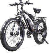 Elektrische Fat Bike - Electrische Fiets - Mountainbike - MTB - 26 inch x 4.0 - 1000W 48v - 70KM Actieradius - 40km/u  - Speed pedelec - Fatbike