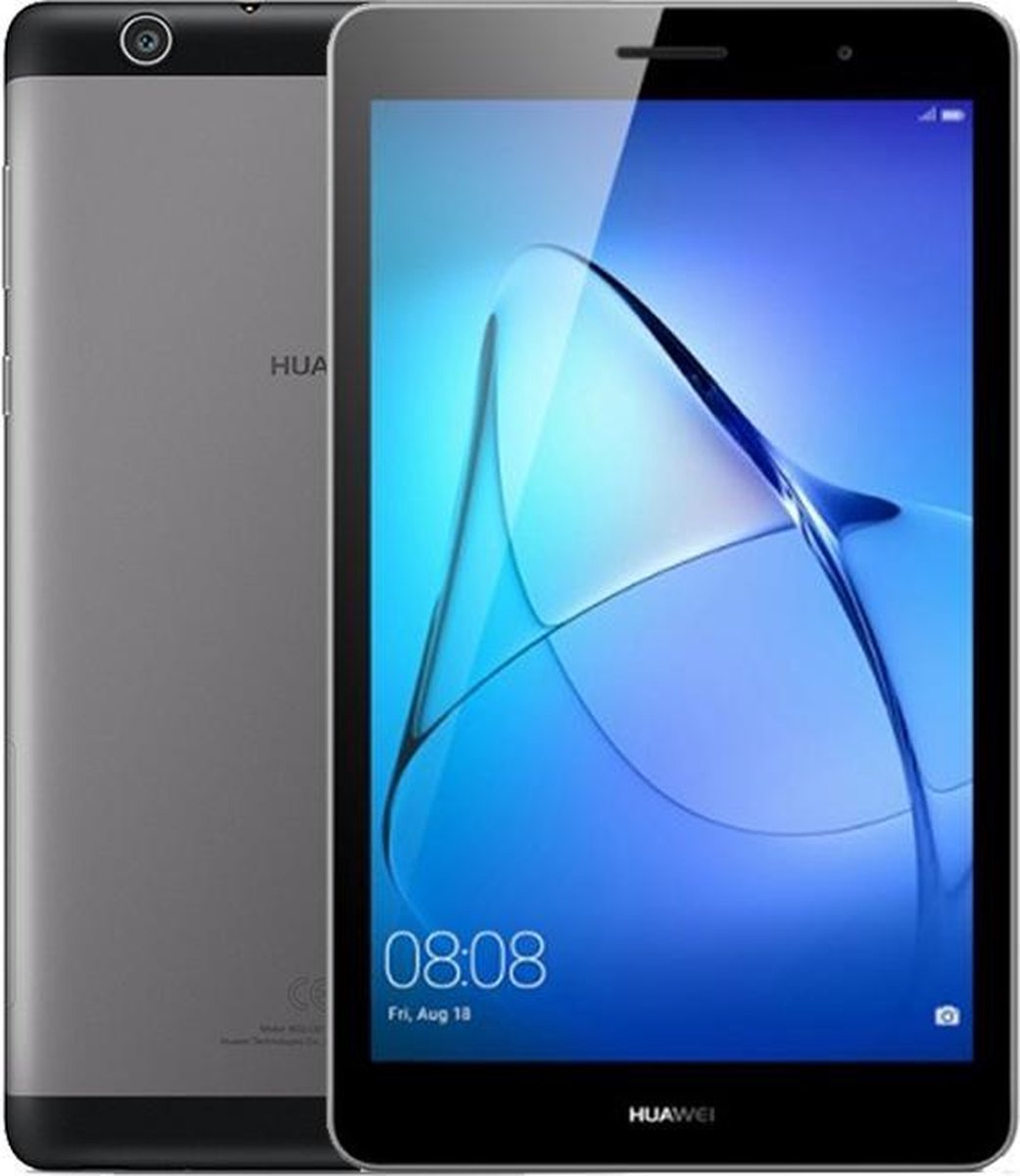 Huawei MediaPad T3 – 7 inch – 8GB – WiFi + 3G – Grijs