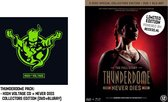 Thunderdome High Voltage (2CD) + Never Dies Collectors Edition (Dvd + Bluray) Pack