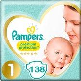 Pampers Premium Protection Luiers Maat 1 - 138 Luiers  Maandbox