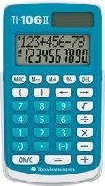 Texas Instruments 106 - Bureaurekenmachine - Wit | Blauw