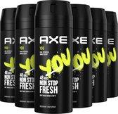 Bol.com-Axe You Bodyspray Deodorant - 6 x 150 ml - Voordeelverpakking-aanbieding