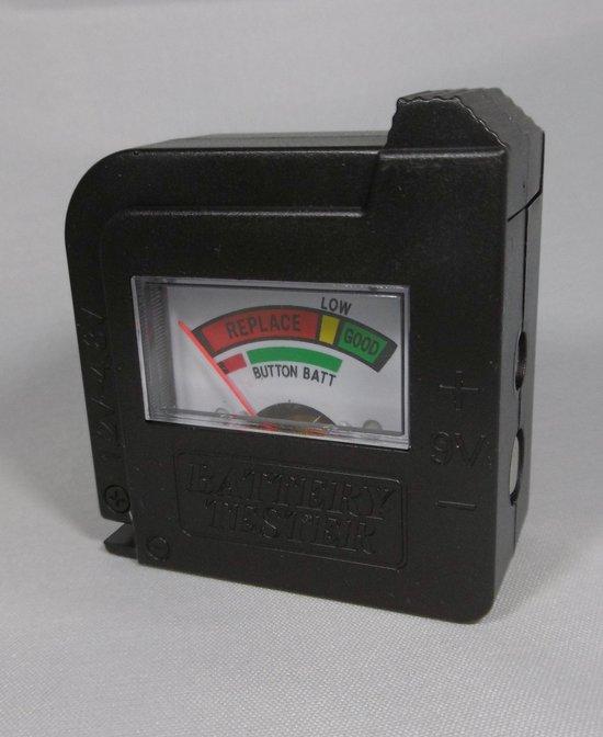 Batterijtester AA/AAA/C/D/9V/1.5V - Wood and Tools