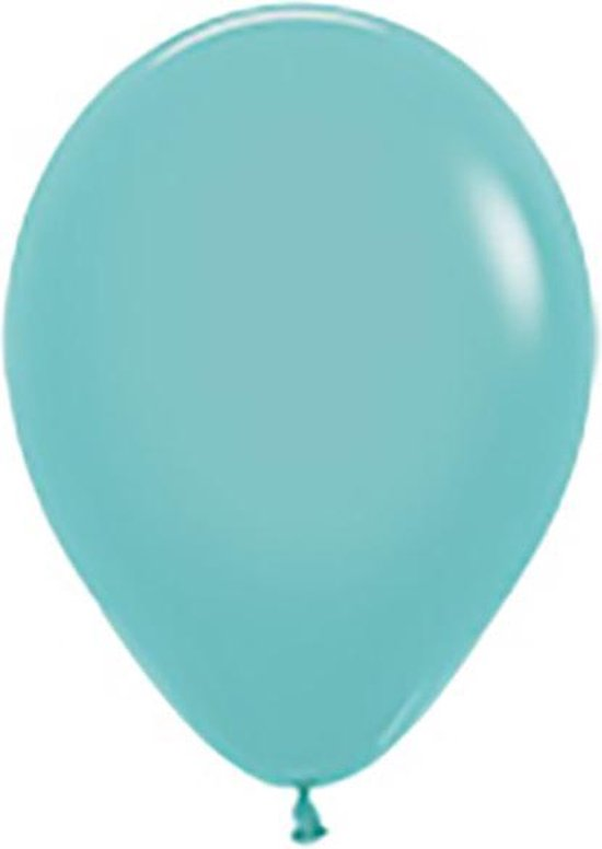"Sempertex 50 ballonnen 5""/12cm Fashion Aquamarine 037"