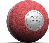 Cheerble mini ball 2.0 - Slimme interactieve zelf rollende bal voor katten - 3 speelmodi - kattenspeeltjes - USB oplaadbaar - Rood