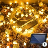 J-Pro Tuinverlichting op Zonne-Energie - 100 Blurry Solar LED 17m - Lichtsnoer - Buiten Lichtslinger
