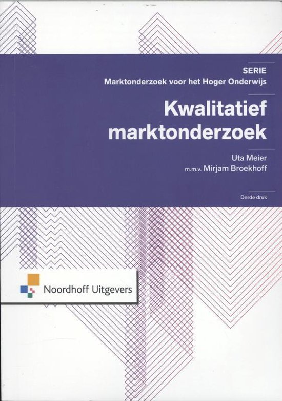 Marktonderzoek voor het Hoger Onderwijs  -   Kwalitatief marktonderzoek