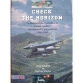 Boek cover Check The Horizon van Wim Lutgert en Rolf de Winter