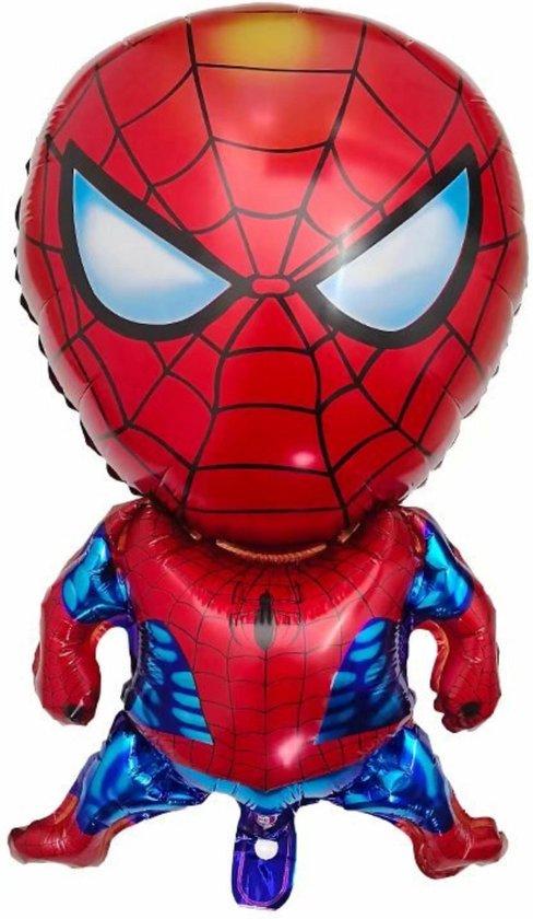 Blije Ballon® - Spiderman Ballon - Marvel Avengers - 73x43 cm - Ballonnen - Spiderman Speelgoed - Spiderman - Marvel