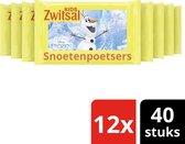 Zwitsal Frozen Snoetenpoetsers - 480 stuks - Voordeelverpakking