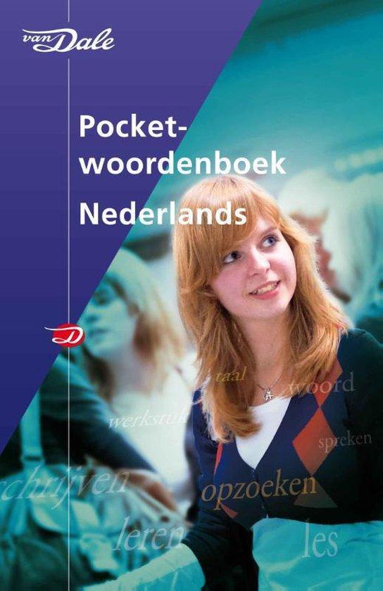 Boek cover Van Dale  -   Van Dale Pocketwoordenboek Nederlands van Diverse auteurs (Paperback)