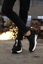 Veiligheidsschoenen sneakers - Sportief  - maat 44 - Zwart