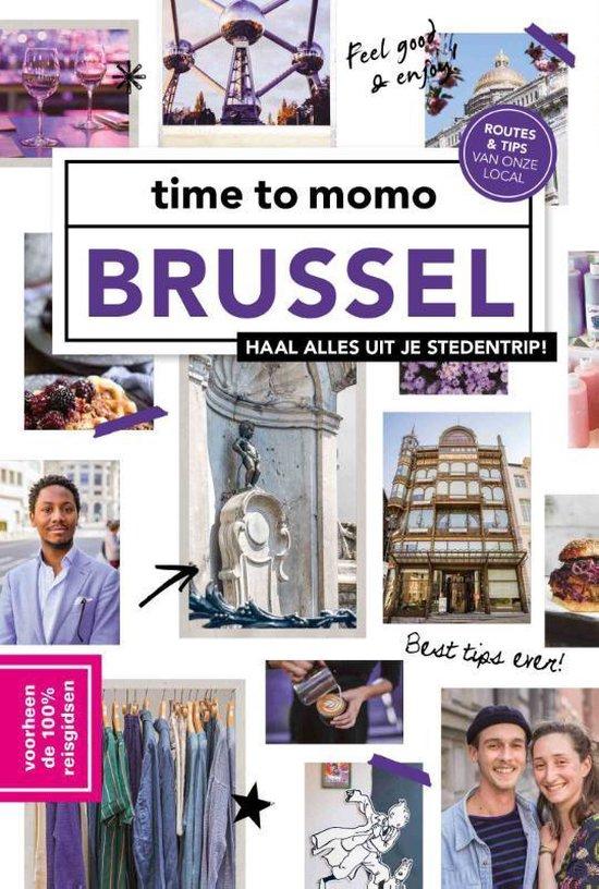Boek cover time to momo  -   Brussel van Jill Tersago (Paperback)