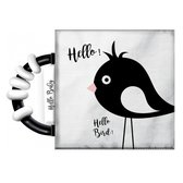 Boek - Knisperboekje - Hallo vogeltje - Met rammelaar