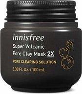 Innisfree - Super volcanic pore clay mask 2x - Koreaanse gezichtsmasker - 100ml