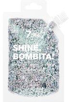 7 DAYS Shine, Bombita! Gel Glitter for face, hair and body 902 Dope 90ml