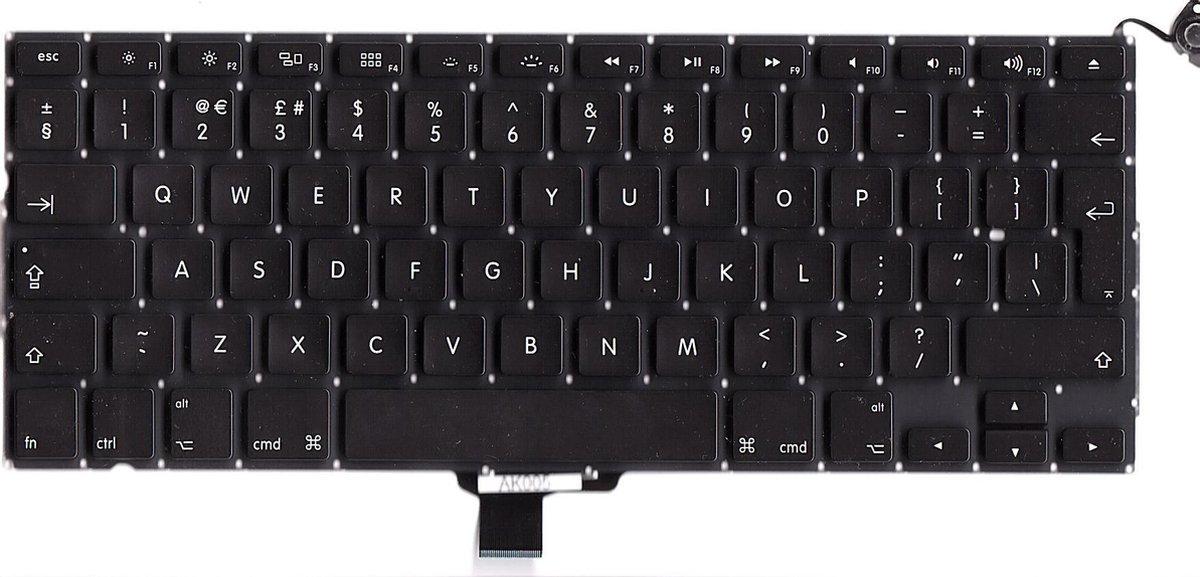 MacBook Pro 13 inch A1278 EU-UK toetsenbord - keyboard 2009-2012 Origineel