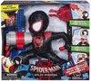 black spiderman - met bediening - maakt geluid